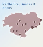 Perthshire, Dundee and Angus