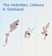 Shetland, Orkney and the Hebrides