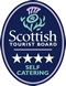 Scottish Tourist Board Self Catergin Star Rating 4
