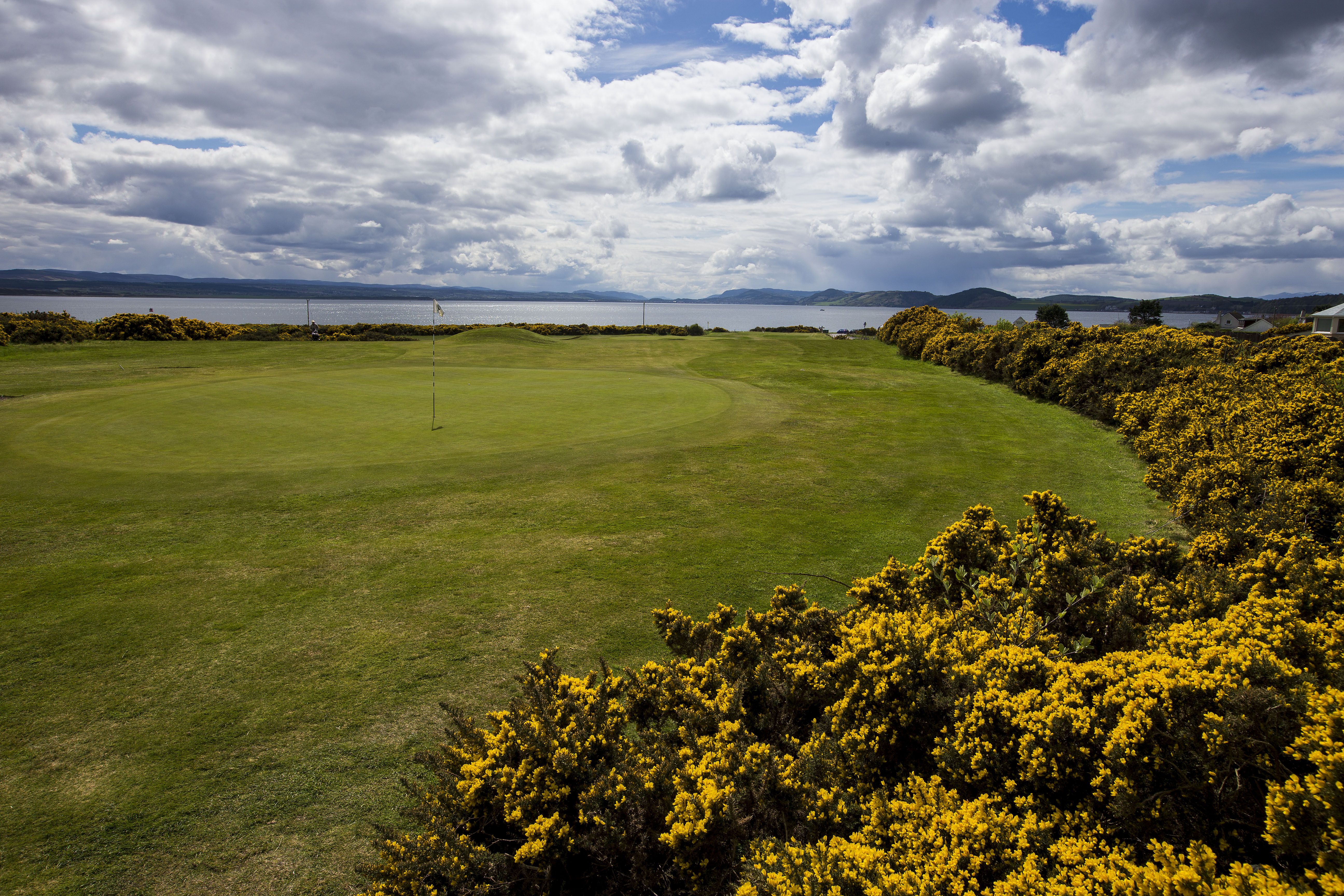 9th hole, credit Fortrose and Rosemarkie Golf Course