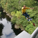 #TasteYeBack bungee jumping with Highland Fling