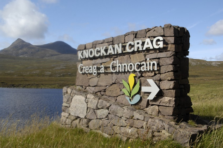 Knockan Crag. Photo credit WildNorth