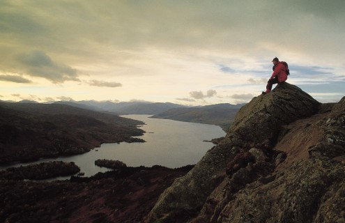 BEN AN AND LOCH KATRINE, THE TROSSACHS.