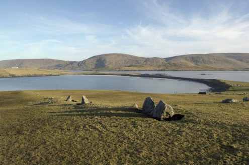 Bannaminn, Burra Isle, west side of South Mainland. Photo credit: Charles Tait