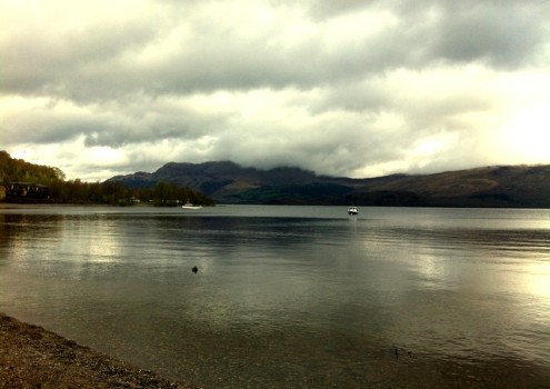 Luss shore. Photo credit Lesley Judge