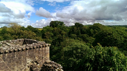Craignethan Castle (From the battlements)