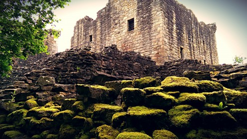 Craignethan Castle (Rear facing full Colour)