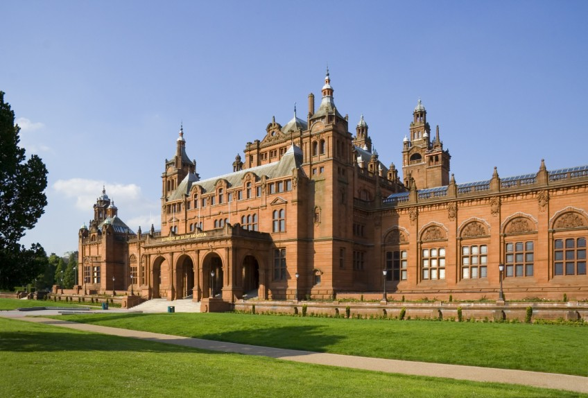 The newly refurbished Glasgow Art Galleries and Museum, reopening in July 2006, built 1901