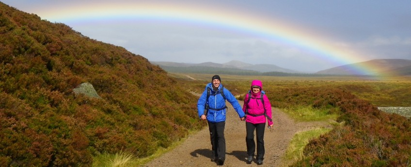 Walking in the Cairngorms, Highlands