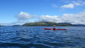 Sea kayaking, Highlands of Scotland