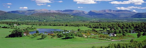 Grampian region and the Cairngorms