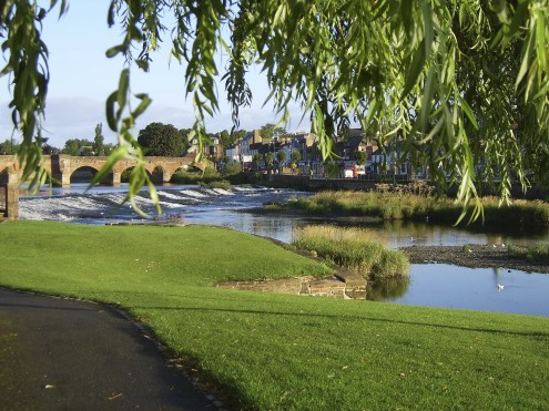 The Rive Nith, Dumfries
