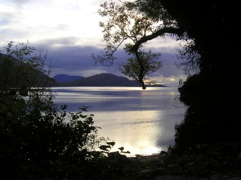 Loch Linnhe from Onich