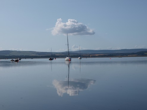 Reflections in Findhorn Bay
