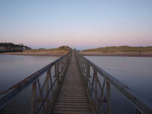 Bridge to the East Beach, Lossiemouth