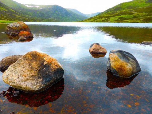 Loch Callater - a real hidden gem on the north part of Jock's Road between Braemar and Glenshee