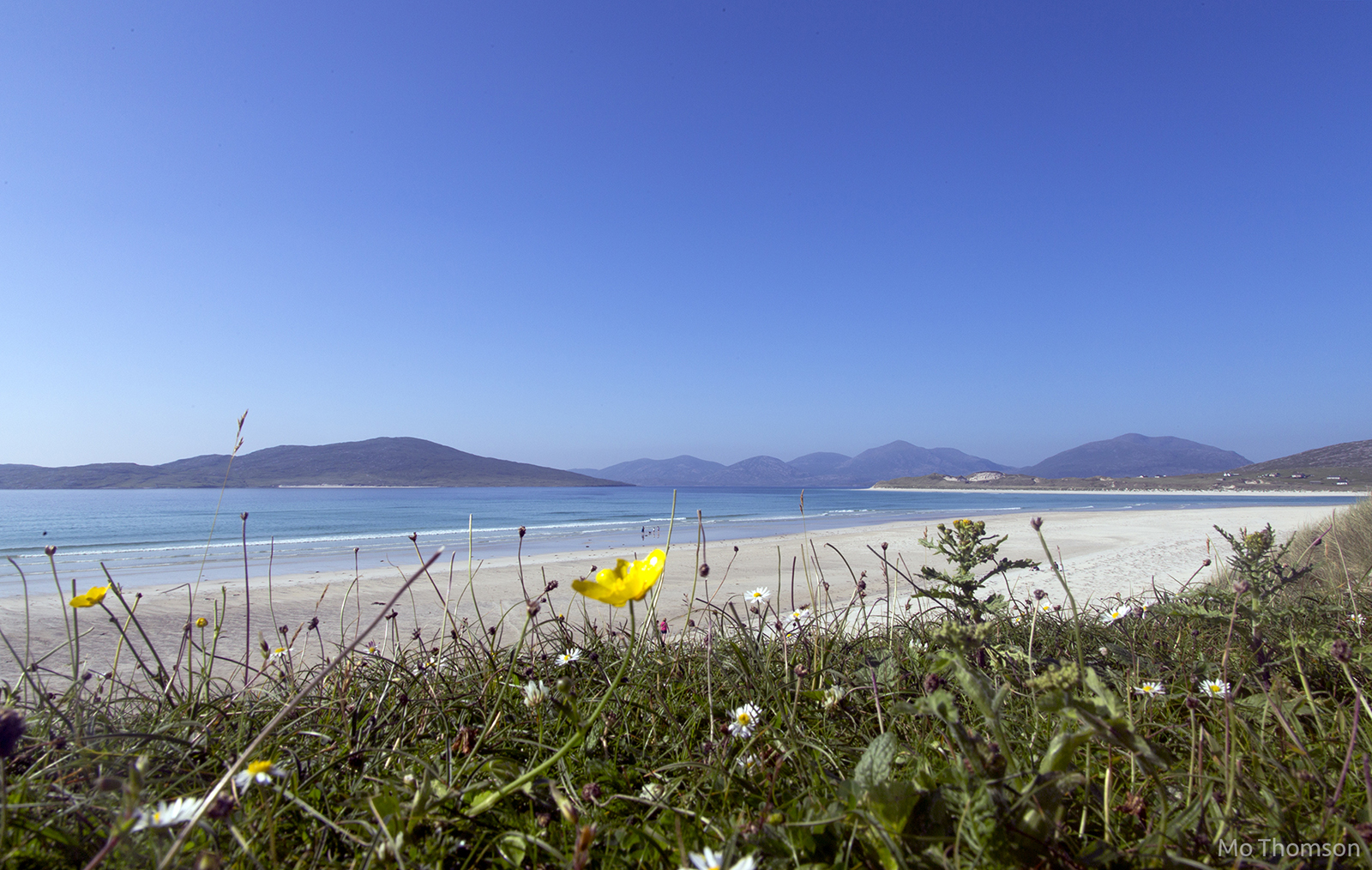 Seilebost - looking over to Taransay and the north Harris hills