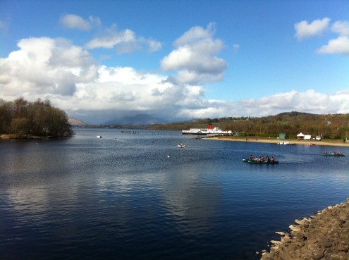 View from Loch Lomond Shores. Photo credit Lesley Judge