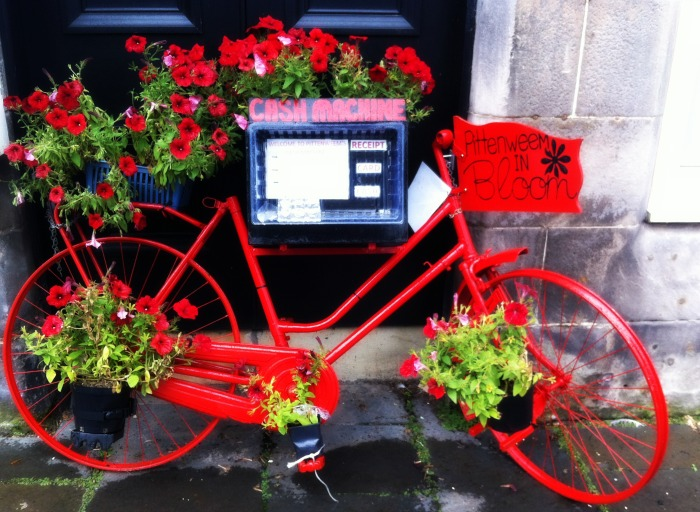 Bike in Pittenweem