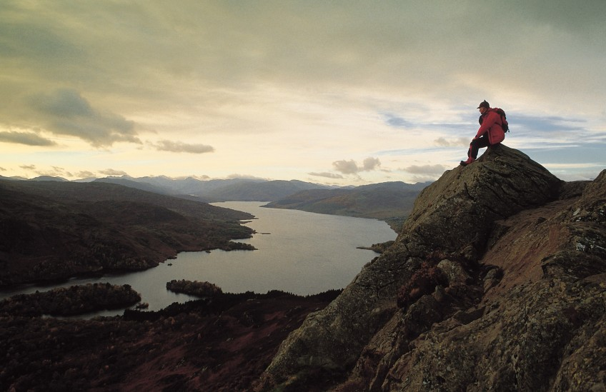 Meta Slider - HTML Overlay - BEN AN AND LOCH KATRINE, THE TROSSACHS.