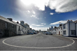 Bowmore, Round Church, Islay, Main Street