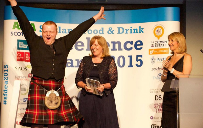 Scotland Food and Drink Excellence Awards, Jamie Hutcheon, Kaye Adams
