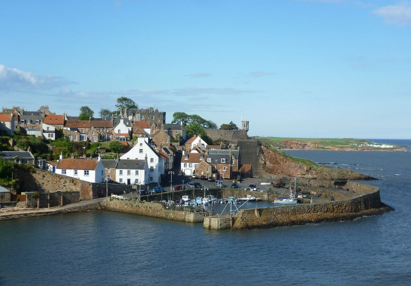 The fishing village of Crail